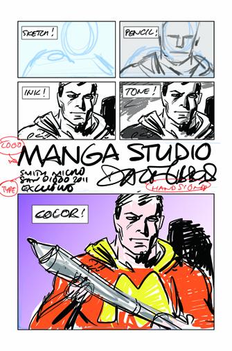 sdcc Manga Studio Dave Gibbons
