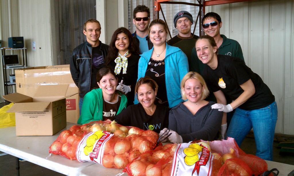 food bank volunteering