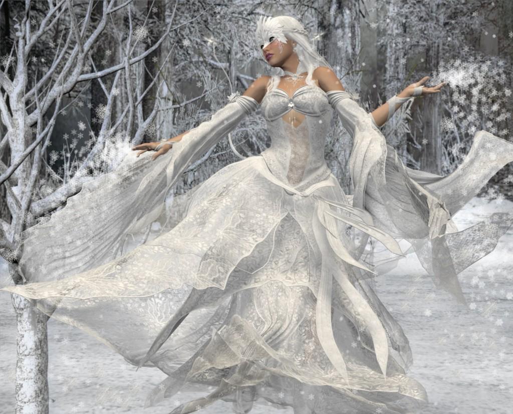 The Queen of Winter by Evindar