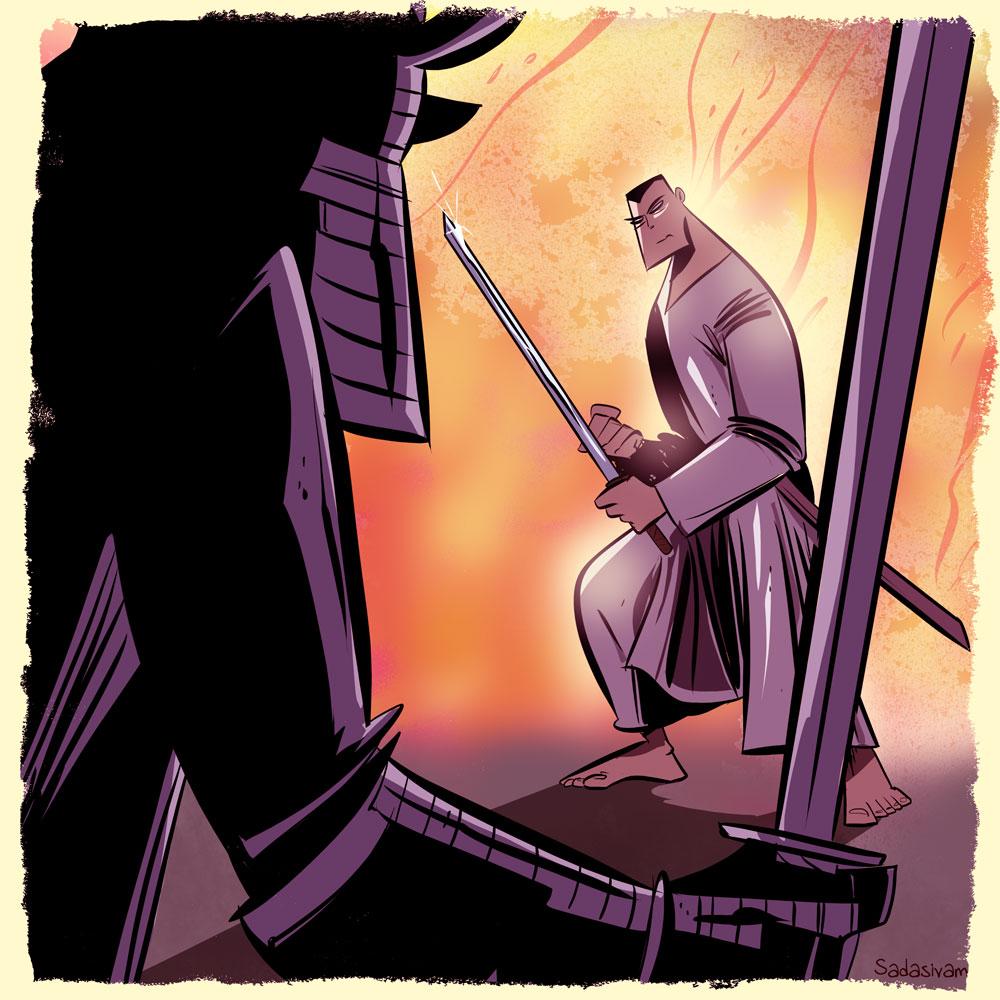 krishna sadasivam samurai manga studio
