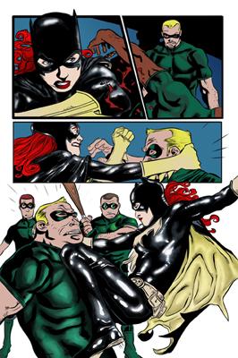 Bat Girl - Teyon Alexander