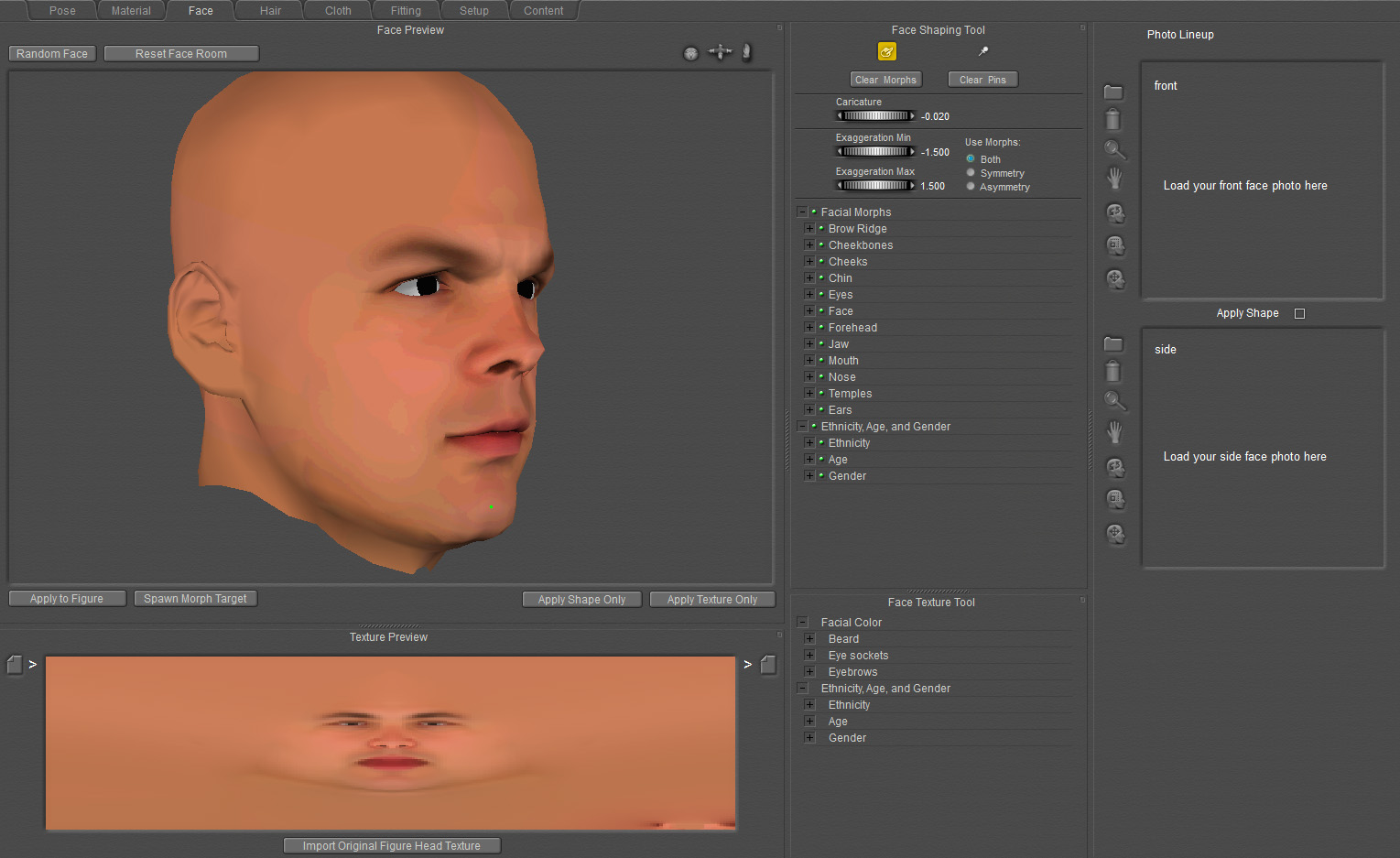 Use the Face Room to customize your characters so they won't have that box-stock look. You can save your custom characters in the Library to re-use them in all your projects.