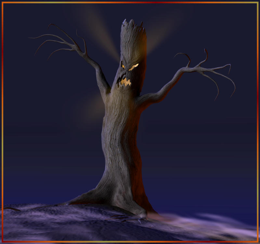 """Hemlock the Haunted Tree"" Originally released about 2002."