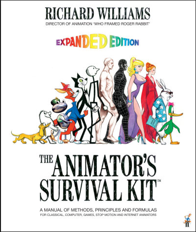 cover of the book-the extended version of the animators survival guide