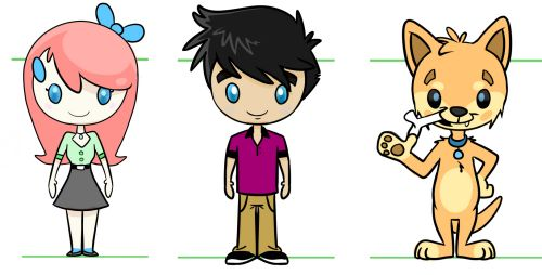 Creating the AniMates Characters