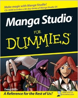 Cover of Manga Studio For Dummies by Doug Hills