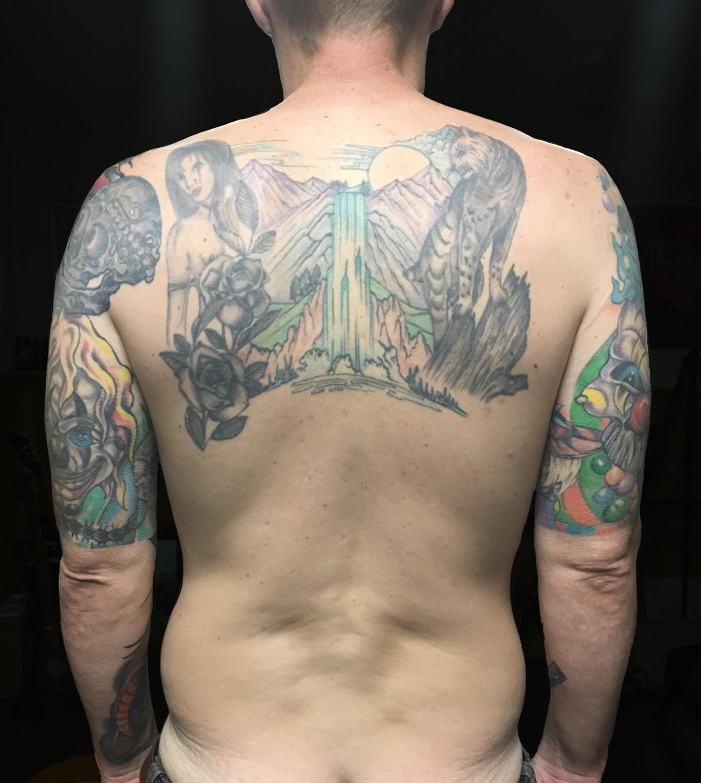 Tattoo Process w/CSP Step 1