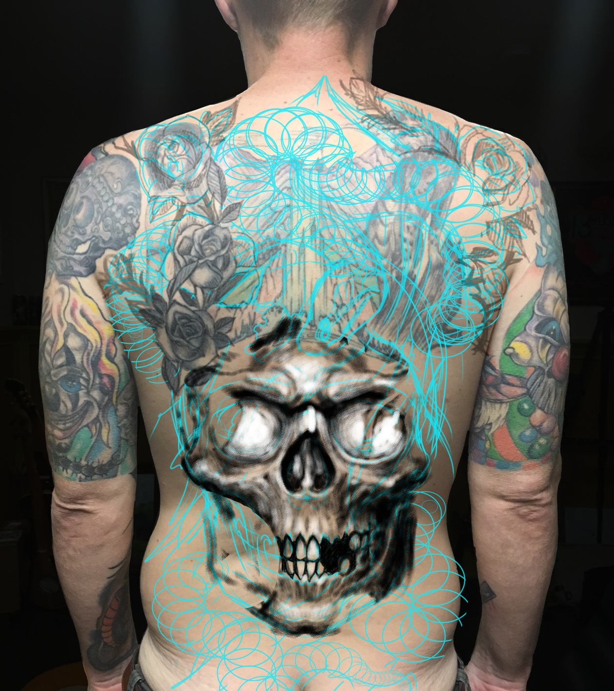 Tattoo Process w/CSP Step 2