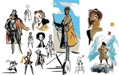 Bessie Coleman concepts