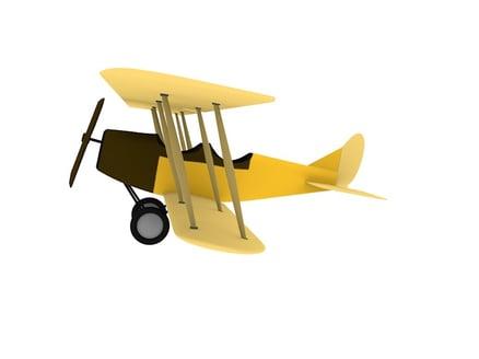 Bessie Coleman's plane sketch