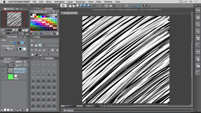 Creating And Using Custom Brushes In Clip Studio Paint