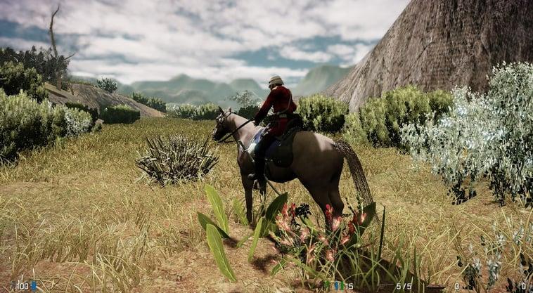 Poser Horse