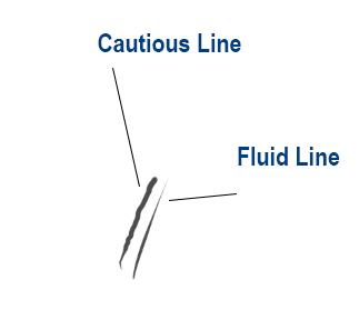 digital illustration-inking lines in CSP