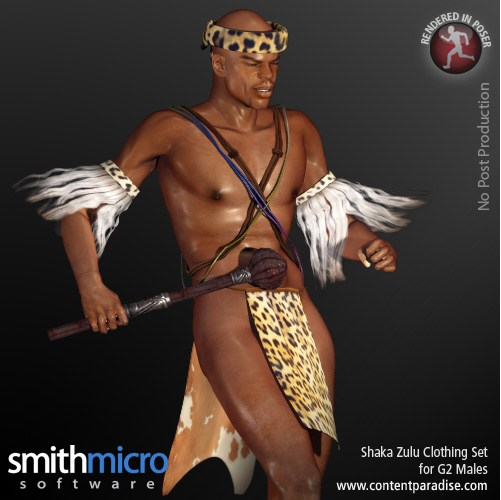 Content Paradise SMSI Zulu Character